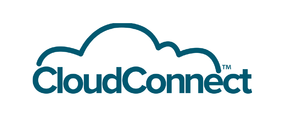 CloudConnect Logo - Blue - Transparent - PNG